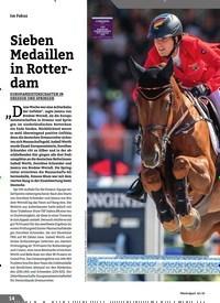 Titelbild der Ausgabe 10/2019 von Sieben Medaillen in Rotterdam. Zeitschriften als Abo oder epaper bei United Kiosk online kaufen.
