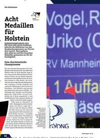 Titelbild der Ausgabe 10/2019 von Acht Medaillen für Holstein. Zeitschriften als Abo oder epaper bei United Kiosk online kaufen.