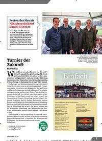 Titelbild der Ausgabe 11/2019 von Turnier der Zukunft. Zeitschriften als Abo oder epaper bei United Kiosk online kaufen.