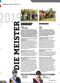 Titelbild der Ausgabe 11/2019 von 2019: DIE MEISTER. Zeitschriften als Abo oder epaper bei United Kiosk online kaufen.