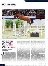 Titelbild der Ausgabe 12/2019 von 400.000 Euro für Chinchero: AUKTION DER REITPFERDE UND HENGSTE. Zeitschriften als Abo oder epaper bei United Kiosk online kaufen.