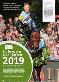 Titelbild der Ausgabe 1/2020 von PFERD+SPORTJAHRESRÜCKBLICK: Ein bewegtes Jahr – das war 2019. Zeitschriften als Abo oder epaper bei United Kiosk online kaufen.