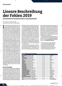 Titelbild der Ausgabe 1/2020 von Lineare Beschreibung der Fohlen 2019. Zeitschriften als Abo oder epaper bei United Kiosk online kaufen.