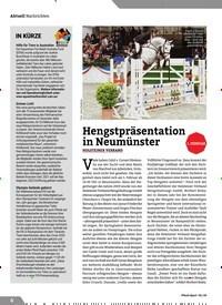 Titelbild der Ausgabe 2/2020 von Hengstpräsentation in Neumünster. Zeitschriften als Abo oder epaper bei United Kiosk online kaufen.