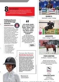 Titelbild der Ausgabe 2/2020 von Fohlenschauen und Sichtungstermine. Zeitschriften als Abo oder epaper bei United Kiosk online kaufen.