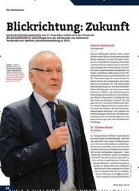 Titelbild der Ausgabe 2/2020 von Blickrichtung: Zukunft. Zeitschriften als Abo oder epaper bei United Kiosk online kaufen.