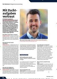 Titelbild der Ausgabe 2/2020 von Mit Zuchtaufgaben vertraut. Zeitschriften als Abo oder epaper bei United Kiosk online kaufen.