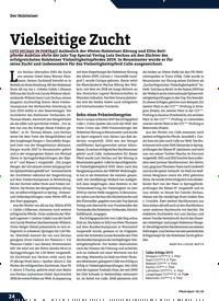 Titelbild der Ausgabe 2/2020 von Vielseitige Zucht. Zeitschriften als Abo oder epaper bei United Kiosk online kaufen.