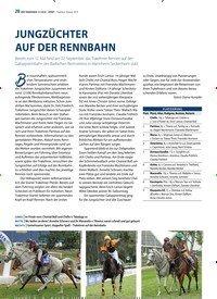 Titelbild der Ausgabe 11/2019 von JUNGZÜCHTER AUF DER RENNBAHN. Zeitschriften als Abo oder epaper bei United Kiosk online kaufen.