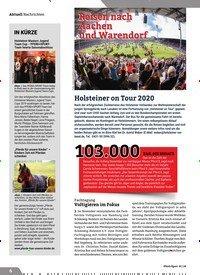 Titelbild der Ausgabe 1/2020 von Reisen nach Aachen und Warendorf. Zeitschriften als Abo oder epaper bei United Kiosk online kaufen.