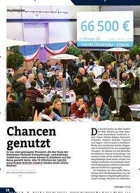 Titelbild der Ausgabe 1/2020 von Chancen genutzt. Zeitschriften als Abo oder epaper bei United Kiosk online kaufen.