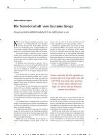 Titelbild der Ausgabe 77/2018 von Die Stenobotschaft vom Gautama Ganga. Zeitschriften als Abo oder epaper bei United Kiosk online kaufen.