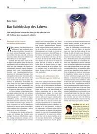 Titelbild der Ausgabe 77/2018 von Katja Elsner: Das Kaleidoskop des Lebens. Zeitschriften als Abo oder epaper bei United Kiosk online kaufen.