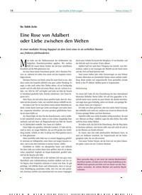 Titelbild der Ausgabe 77/2018 von Dr. Edith Zeile: Eine Rose von Adalbert oder Liebe zwischen den Welten. Zeitschriften als Abo oder epaper bei United Kiosk online kaufen.