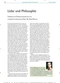 Titelbild der Ausgabe 79/2019 von Liebe und Philosophie. Zeitschriften als Abo oder epaper bei United Kiosk online kaufen.