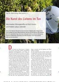 Titelbild der Ausgabe 79/2019 von Prof. Dr. Maik Hosang, Bodo Janssen u. a.: Die Kunst des Liebens im Tun. Zeitschriften als Abo oder epaper bei United Kiosk online kaufen.