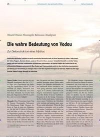 Titelbild der Ausgabe 82/2020 von Messanh Hounon Hounougnbo Bahounsou Amadegnato: Die wahre Bedeutung von Vodou: Zur Dekonstruktion eines Mythos. Zeitschriften als Abo oder epaper bei United Kiosk online kaufen.