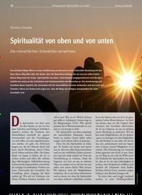 Titelbild der Ausgabe 83/2020 von Spiritualität von oben und von unten. Zeitschriften als Abo oder epaper bei United Kiosk online kaufen.