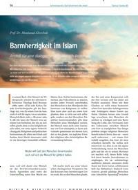 Titelbild der Ausgabe 85/2020 von Barmherzigkeit im Islam. Zeitschriften als Abo oder epaper bei United Kiosk online kaufen.