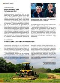 Titelbild der Ausgabe 23/2018 von KURZ UND BÜNDIG: GLYPHOSATAUSSTIEG: Koalitionsstreit über Schulzes Vorstoß. Zeitschriften als Abo oder epaper bei United Kiosk online kaufen.