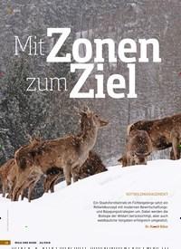 Titelbild der Ausgabe 24/2018 von Mit Zonen zum Ziel: ROTWILDMANAGEMENT. Zeitschriften als Abo oder epaper bei United Kiosk online kaufen.