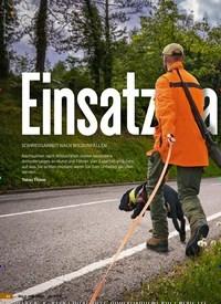 Titelbild der Ausgabe 24/2018 von Einsatz am Asphalt: SCHWEISSARBEIT NACH WILDUNFÄLLEN. Zeitschriften als Abo oder epaper bei United Kiosk online kaufen.