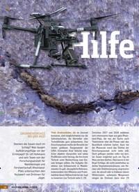 Titelbild der Ausgabe 1/2019 von Hilfe von oben: DROHNENEINSATZ BEI DER JAGD. Zeitschriften als Abo oder epaper bei United Kiosk online kaufen.