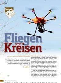 Titelbild der Ausgabe 1/2019 von Fliegen statt Kreisen. Zeitschriften als Abo oder epaper bei United Kiosk online kaufen.