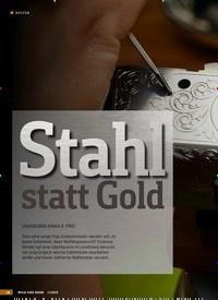 Titelbild der Ausgabe 1/2019 von KULTUR: Stahl statt Gold: GRAVEURIN ANNA E. FREI. Zeitschriften als Abo oder epaper bei United Kiosk online kaufen.