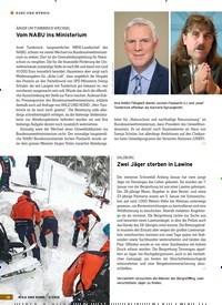 Titelbild der Ausgabe 3/2019 von KURZ UND BÜNDIG: ÄRGER UM TUMBRINCK-WECHSEL: Vom NABU ins Ministerium. Zeitschriften als Abo oder epaper bei United Kiosk online kaufen.