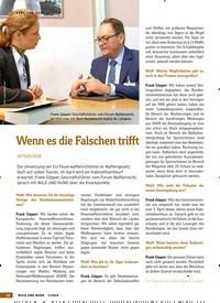 Titelbild der Ausgabe 7/2019 von KURZUNDBÜNDIG: Wenn es die Falschen trifft: INTERVIEW. Zeitschriften als Abo oder epaper bei United Kiosk online kaufen.