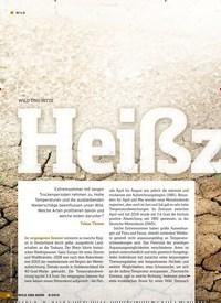 Titelbild der Ausgabe 8/2019 von WILD UND HITZE: Heißzeit. Zeitschriften als Abo oder epaper bei United Kiosk online kaufen.