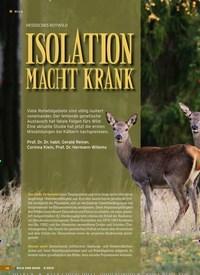 Titelbild der Ausgabe 9/2019 von HESSISCHES ROTWILD: ISOLATION MACHT KRANK. Zeitschriften als Abo oder epaper bei United Kiosk online kaufen.