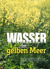 Titelbild der Ausgabe 9/2019 von SAUJAGD IM RAPS: WASSER im gelben Meer. Zeitschriften als Abo oder epaper bei United Kiosk online kaufen.