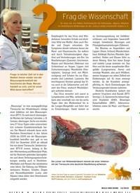 Titelbild der Ausgabe 13/2019 von Frag die Wissenschaft?. Zeitschriften als Abo oder epaper bei United Kiosk online kaufen.