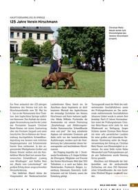 Titelbild der Ausgabe 14/2019 von HAUPTVERSAMMLUNG IN SPRINGE: 125 Jahre Verein Hirschmann. Zeitschriften als Abo oder epaper bei United Kiosk online kaufen.