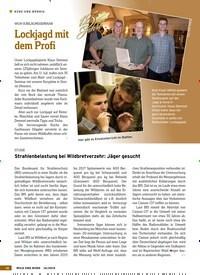 Titelbild der Ausgabe 16/2019 von Lockjagd mit dem Profi. Zeitschriften als Abo oder epaper bei United Kiosk online kaufen.