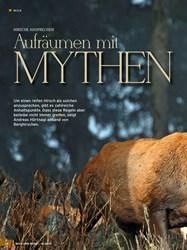 Titelbild der Ausgabe 18/2019 von HIRSCHE ANSPRECHEN: Aufräumen mit MYTHEN. Zeitschriften als Abo oder epaper bei United Kiosk online kaufen.