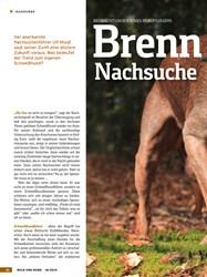 Titelbild der Ausgabe 18/2019 von BEOBACHTUNGEN EINES BERUFSJÄGERS: Brenn punkt Nachsuche. Zeitschriften als Abo oder epaper bei United Kiosk online kaufen.