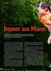Titelbild der Ausgabe 20/2019 von ERSTE-HILFE-SET FÜR HUNDEFÜHRER: Immer am Mann. Zeitschriften als Abo oder epaper bei United Kiosk online kaufen.