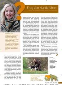 Titelbild der Ausgabe 20/2019 von Frag den Hundeführer. Zeitschriften als Abo oder epaper bei United Kiosk online kaufen.