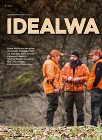 Titelbild der Ausgabe 22/2019 von GEWEHRWAHL IM WANDEL: IDEALWAFFEN auf Zeit. Zeitschriften als Abo oder epaper bei United Kiosk online kaufen.