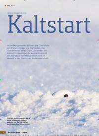 Titelbild der Ausgabe 2/2020 von MOORSCHNEEHUHN: Kaltstart. Zeitschriften als Abo oder epaper bei United Kiosk online kaufen.