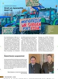 Titelbild der Ausgabe 2/2020 von KURZ UND BÜNDIG: LANDWIRTSCHAFT/UMWELT: Streit um Agrarpolitik dauert an. Zeitschriften als Abo oder epaper bei United Kiosk online kaufen.