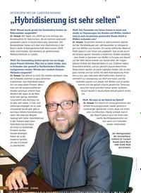 """Titelbild der Ausgabe 5/2020 von INTERVIEW MIT DR. CARSTEN NOWAK: """"Hybridisierung ist sehr selten"""". Zeitschriften als Abo oder epaper bei United Kiosk online kaufen."""