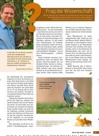 Titelbild der Ausgabe 6/2020 von Frag die Wissenschaft. Zeitschriften als Abo oder epaper bei United Kiosk online kaufen.