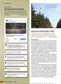 Titelbild der Ausgabe 7/2020 von Niedersachsen: Bald Windräder im Wald?. Zeitschriften als Abo oder epaper bei United Kiosk online kaufen.