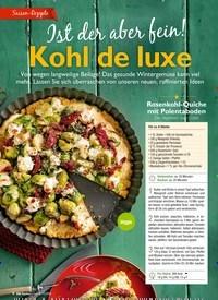 Titelbild der Ausgabe 12/2018 von Ist der aber fein!: Kohl de luxe. Zeitschriften als Abo oder epaper bei United Kiosk online kaufen.
