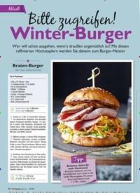 Titelbild der Ausgabe 12/2018 von Bitte zugreifen! Winter-Burger. Zeitschriften als Abo oder epaper bei United Kiosk online kaufen.