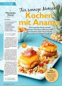 Titelbild der Ausgabe 2/2019 von SFür sonnige Momente: Kochen mit Ananas. Zeitschriften als Abo oder epaper bei United Kiosk online kaufen.